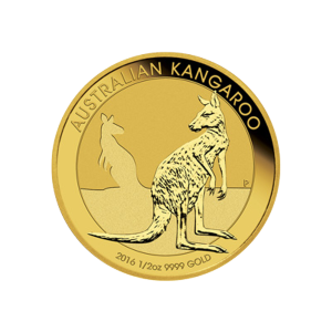 1/2 oz 2016 Australian Kangaroo Gold Coin