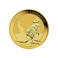 1/2 oz Goldmünze - australisches Känguru - 2016