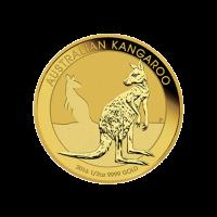 1/2 oz Goldmünze - australisches Känguru - 2016
