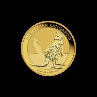 Pièce d'or Kangourou australien 2016 de 1/4 once