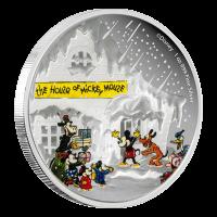1 oz Silbermünze - Disney klassische frohe Festtage - 2015 limitiert