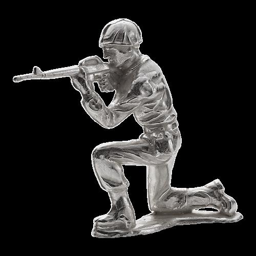 1 oz Silbersoldat | Gewehrschütze