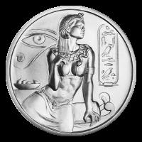 2 oz Silbermedaille - Kleopatra - Ultrahochrelief
