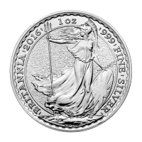 1 oz Silbermünze - Britannia - 2016