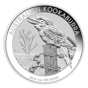 Moneda de Plata Cucaburra Australiano 2016 de 1 oz
