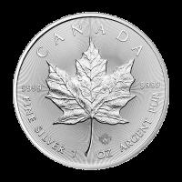 1 oz kanadische Silbermünze - Ahornblatt - 2016