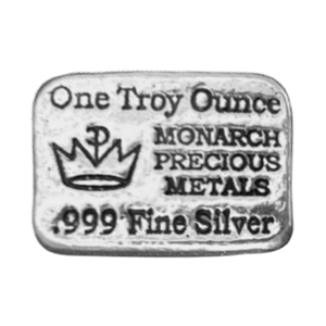 1 oz Monarch Hand Poured Silver Bar