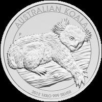 1 kg | Pièce d'argent Koala australien en kilo 2012