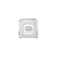1 gram Geiger Edelmetalle Silver Bar