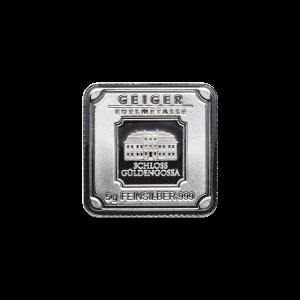 5 gram Geiger Edelmetalle Silver Bar