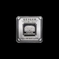 Lingot d'argent Geiger Edelmetalle de 5 grammes