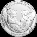 מטבע כסף קואלה אוסטרלי שנת 2011 משקל קילו