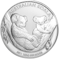 1 kg | kilo 2011 Australian Koala Silver Coin
