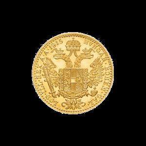 Österreichische 1 Dukaten Goldmünze - Zufallsjahr