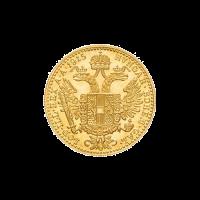 Pièce d'or Ducat 1 d'Autriche d'année aléatoire