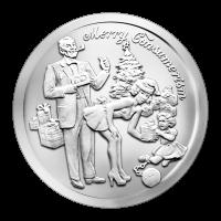 1 oz Silbermedaille - Fröhliches Konsumverhalten - 2015