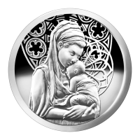 1oz 2015 Peace Silver Proof-Like Round
