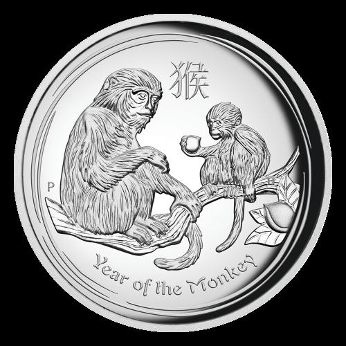 """Das Abbild der Königin Elizabeth II., mit den Worten """"Elizabeth II Australia 1 Dollar 1 oz 999 Silver 2016"""" (Elizabeth II Australien 1 Dollar 1 oz 999 Silber 2016)."""