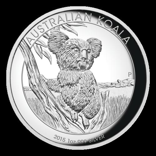 """Abbild der Königin Elisabeth II. und die Worte """"Elizabeth II Australia 2015 1 Dollar"""" (Elisabeth II. Australien 2015 1 Dollar)."""