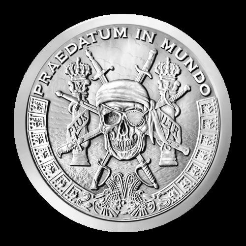 1 oz Silbermedaille von Silver Shield - Achterstücke