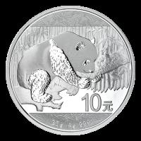 30 g chinesische Silbermünze - Panda - 2016