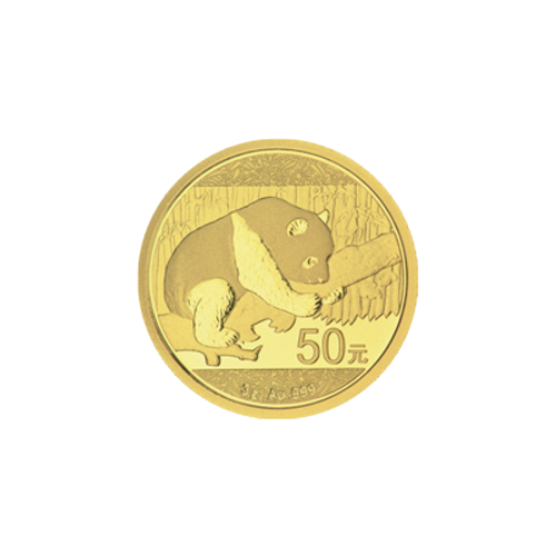 3 g 2016 Chinese Panda Gold Coin