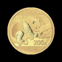 15 g Goldmünze - chinesischer Panda - 2016