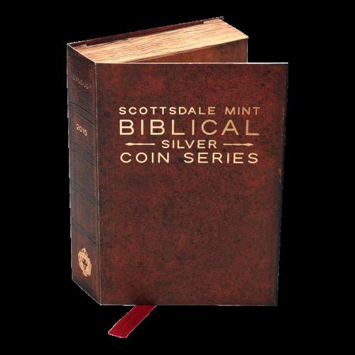 2 oz Silbermünze - biblische Serie | Die zehn Gebote - 2015