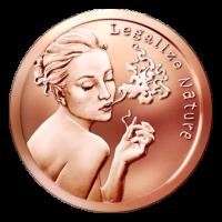 1 oz Kupfermedaille - Natur legalisieren - 2015