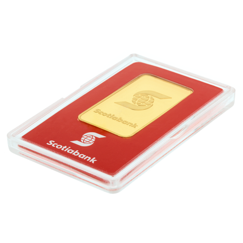 1 oz Goldbarren der Scotiabank