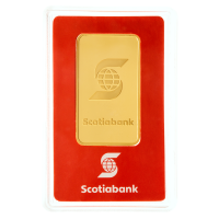 1 oz Scotiabank Gold Bar