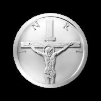 1/2 oz Silbermedaille 2015 - Jesus Schekel