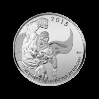 1/4 oz Silbermünze - $20 für $20 Superman™ - 2015