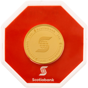 1 oz Scotiabank Gold Round