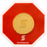 1 oz Goldmedaille der Scotiabank