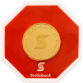 Ronde d'or Scotiabank de 1 once
