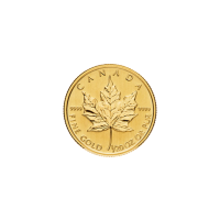 1/20oz Random Year Canadian Maple Leaf Gold Coin