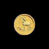 1/20 oz Goldmünze mit Zufallsjahr   Beschädigt