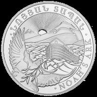 10 oz armenische Silbermünze - Arche Noah - 2015