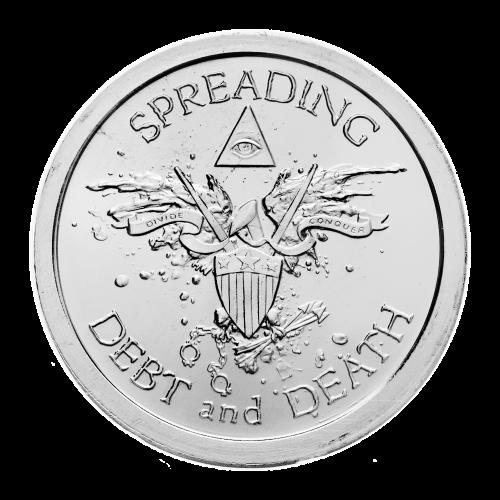 Ronde d'argent de qualité semblable à Belle Epreuve spéciale BU Warbird 2013 de 1 once | Collection personnelle de Chris Duane
