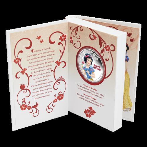 1 oz Silbermünze - Disney Prinzessin Schneewittchen - 2015