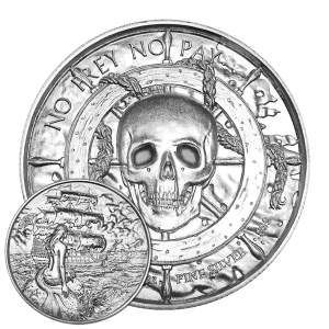 2 oz Privateer Collection | Siren Ultra High Relief Silver Round