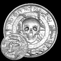 2 oz Silbermedaille - Freibeutersammlung   Sirene Ultrahochrelief