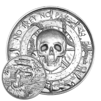 2 oz Silbermedaille - Freibeutersammlung | Sirene Ultrahochrelief