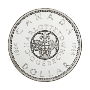 1964 Canadian Silver Dollar $1 Face Value Circulation 80% Pure Silver Coin