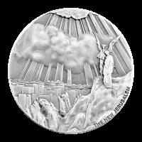 2 oz Silbermünze - biblische Serie   Das neue Jerusalem 2015