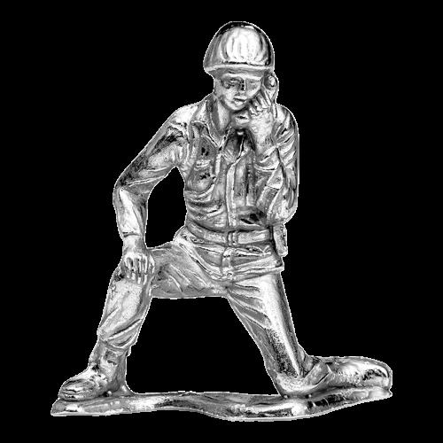 1 oz Silbersoldat | Armeesoldat Funker