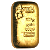 100 g Valcambi  Gouden Staaf