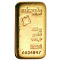 250 g Goldbarren Valcambi