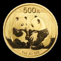1 oz Goldmünze - chinesischer Panda - 2009
